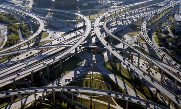 Freeway Auto Center >> Texas High Five Interchange   ourstarsandstripesforever